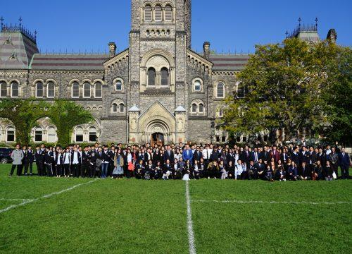 加拿大新东方国际学院2017年秋季开学典礼